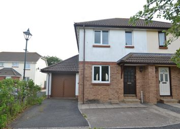 Thumbnail 2 bed semi-detached house to rent in Coopers Drive, Roundswell, Barnstaple