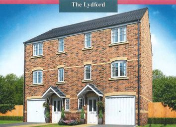 Thumbnail 3 bed town house for sale in The Lydford, Woodlands, Mottram Road, Stalybridge
