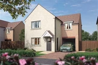 Thumbnail 4 bed detached house for sale in The Juniper, Earsdon View, Off Earsdon Road, Shiremoor