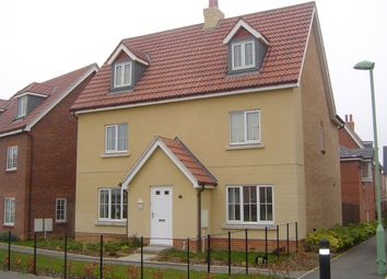 Thumbnail 5 bed detached house for sale in Kingfisher Road, Bury St. Edmunds