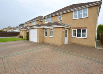 Thumbnail 4 bedroom detached house for sale in Bretts Way, Whittlesey, Peterborough