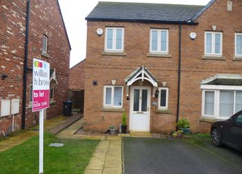 Thumbnail 2 bed semi-detached house to rent in Shireoaks Way, Grimethorpe, Barnsley