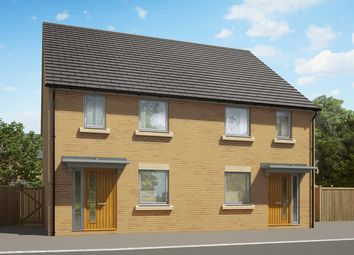 """Thumbnail 2 bedroom semi-detached house for sale in """"The Barton"""" at Heron Road, Northstowe, Cambridge"""