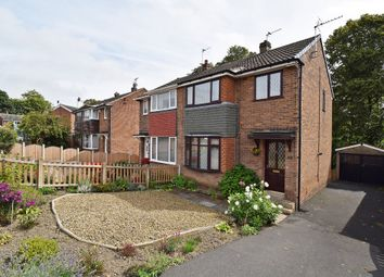 Thumbnail 3 bed semi-detached house for sale in Hall Park Avenue, Crofton, Wakefield
