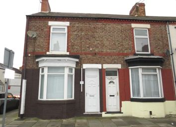 Thumbnail 2 bed end terrace house for sale in Langley Avenue, Thornaby, Stockton-On-Tees