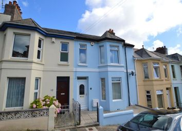 Thumbnail 3 bed terraced house for sale in Mostyn Avenue, Plymouth, Devon