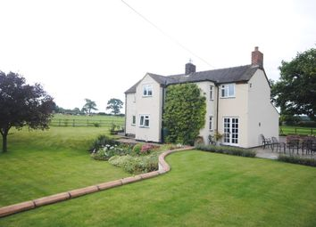 Thumbnail 4 bed detached house to rent in Hooks Lane, Hinstock, Market Drayton