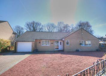 Thumbnail 3 bed detached bungalow for sale in Woodburn Street, Stobswood, Morpeth