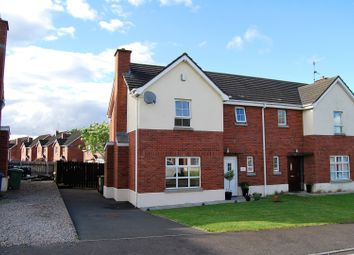 Thumbnail 3 bedroom semi-detached house for sale in Moyraverty Meadows, Craigavon