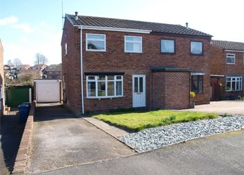 Thumbnail 3 bed semi-detached house to rent in Norman Road, Tutbury, Burton-On-Trent, Staffordshire