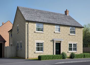 """Thumbnail 4 bedroom detached house for sale in """"The Kempthorne"""" at Uffington Road, Barnack, Stamford"""