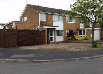 Thumbnail 3 bedroom semi-detached house for sale in Osprey Close, Leicester