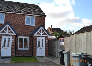 Thumbnail 2 bed semi-detached house to rent in Hudson Way, Grantham