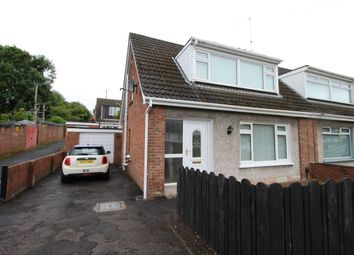 Thumbnail 3 bed semi-detached house to rent in Moss Road, Lambeg, Lisburn