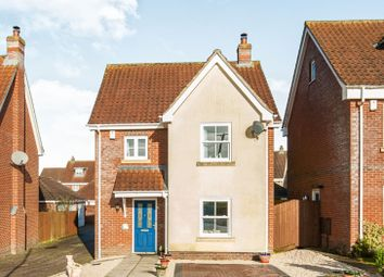 Thumbnail 3 bed detached house for sale in Goat Willow Close, Watton, Thetford
