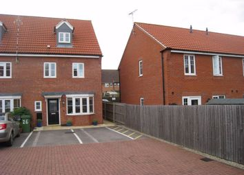 Thumbnail 4 bed end terrace house for sale in Fretter Close, Broughton Astley, Leicester