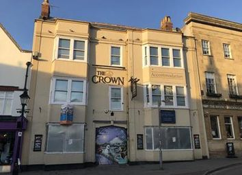 Thumbnail Pub/bar for sale in The Crown & Backpackers, 4 Market Place, Glastonbury, Somerset
