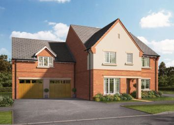 Thumbnail 5 bedroom detached house for sale in The Hollies, Gnosall, Stafford