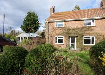 Thumbnail 3 bedroom semi-detached house for sale in Wood Lane, Starston, Harleston