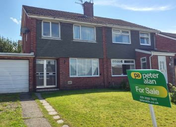 Thumbnail 3 bed semi-detached house for sale in Lon-Y-Garwa, Caerphilly