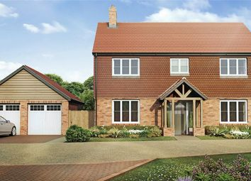 Thumbnail 5 bedroom detached house for sale in Boyneswood Lane, Medstead, Alton