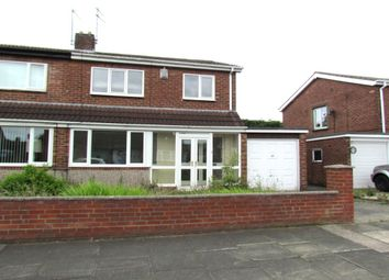 Thumbnail 3 bed semi-detached house to rent in Acomb Crescent, Gosforth, Newcastle Upon Tyne