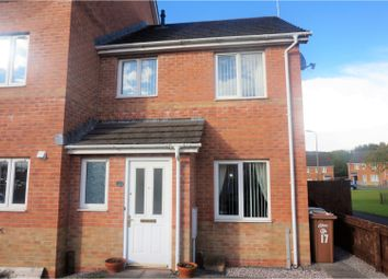 Thumbnail 3 bed end terrace house for sale in Halfacre Court, Caerphilly