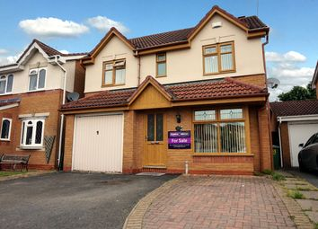 Thumbnail 4 bed detached house for sale in Beechcroft, Bedworth