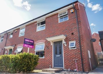 Thumbnail 3 bed end terrace house for sale in Hillside Gardens, Wittering, Peterborough