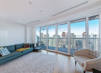 Thumbnail 1 bedroom flat for sale in Arena Tower, Crossharbour Plaza, Canary Wharf