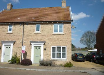 Thumbnail 3 bed property to rent in Admiral Wilson Way, Swaffham
