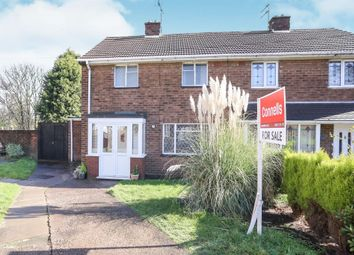 Thumbnail 2 bedroom semi-detached house for sale in Wedgwood Close, East Park, Wolverhampton
