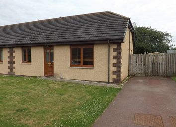 Thumbnail 2 bed semi-detached bungalow for sale in West Newfield Crescent, Alness