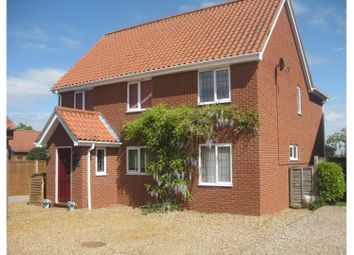 Thumbnail 4 bed detached house for sale in Colegate End Road, Pulham Market, Diss