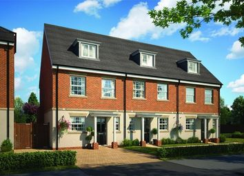 Thumbnail 3 bed terraced house for sale in Portesbery Square, Portesbery Road, Camberley, Surrey