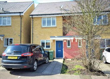 Thumbnail 2 bed terraced house to rent in Snowden, Gravesend