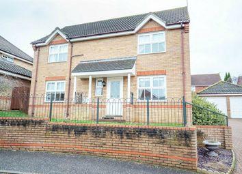 Thumbnail 4 bed detached house for sale in Sedge Close, Fakenham