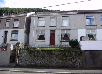 Thumbnail 3 bed semi-detached house to rent in Sunnyside, Ogmore Vale, Bridgend, Mid Glamorgan