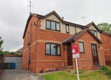 Thumbnail 3 bed semi-detached house for sale in Fernwood Close, Hasland, Chesterfield