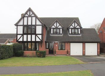 Thumbnail Detached house for sale in Woodcote Way, Heatherton Village, Littleover, Derby