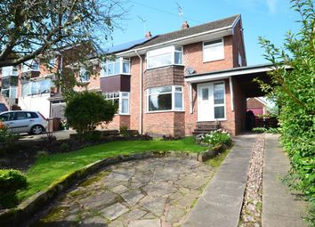 Thumbnail 3 bed semi-detached house to rent in Hillside Avenue, Forsbrook
