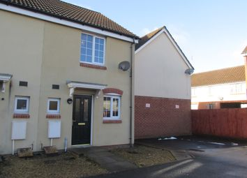 Thumbnail 2 bed semi-detached house for sale in Meadow Close, Merthyr Tydfil
