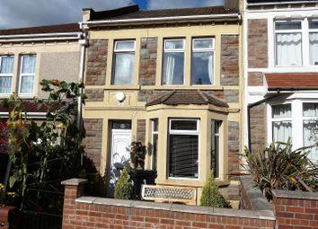Thumbnail 3 bed terraced house for sale in Sandgate Road, Brislington, Bristol