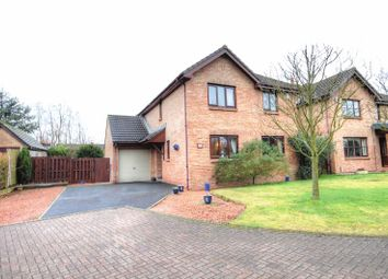 Thumbnail 4 bed detached house for sale in Rimside Gardens, Longframlington, Morpeth