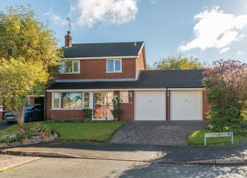 Thumbnail 4 bedroom detached house for sale in Berkeley Close, Gnosall, Stafford