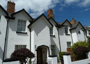 Thumbnail 2 bed terraced house to rent in Montpellier Road, Exmouth