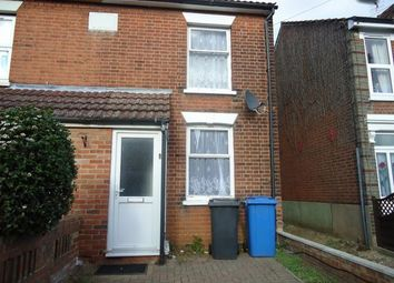 Thumbnail 3 bedroom end terrace house to rent in York Road, Ipswich, Suffolk
