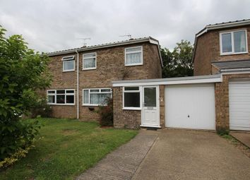 Thumbnail 3 bedroom semi-detached house for sale in Hervey Close, Ely