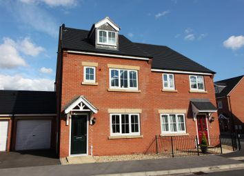 Thumbnail 3 bed semi-detached house for sale in Elliott Close, Retford