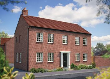 "Thumbnail 4 bed detached house for sale in ""The Montpellier"" at Main Street, Tingewick, Buckingham"